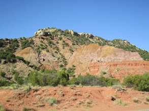 Photo: Down in the floor of the canyon, which runs along the Prairie Dog Town Fork of the Red River.