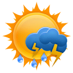 India Weather Icon