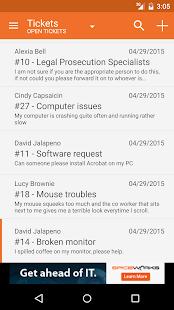 Spiceworks - Help Desk- screenshot thumbnail