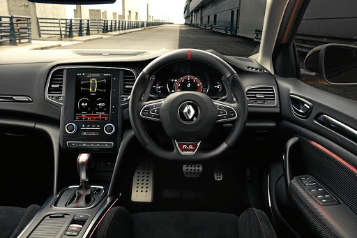 The interior gets the RS treatment but with a little more comfort and technology than RS owners are used to. Picture: QUICKPIC
