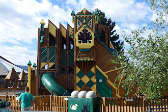 Photo: Dragon Hollow Playground, time for the kids to stretch their legs.