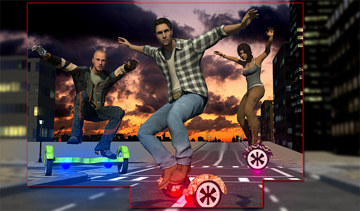 玩免費賽車遊戲APP|下載3D懸浮滑板賽車模擬器 app不用錢|硬是要APP