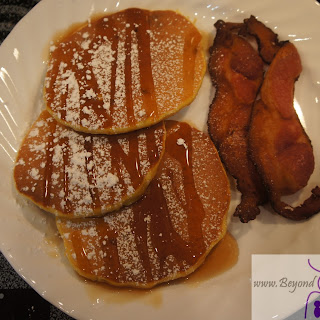 Maple Pecan Pumpkin Pancakes