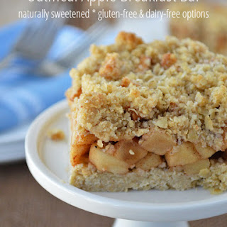 Oatmeal Apple Breakfast Bars.