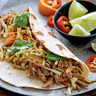 Sweet & Spicy Pork Tacos