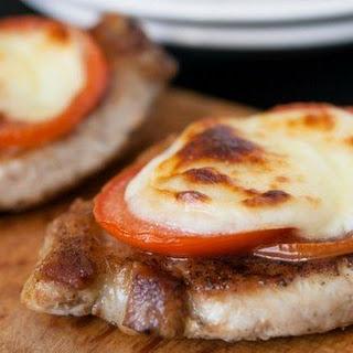 Pork Chops Mozzarella Recipes.