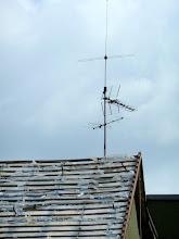 Photo: Noch reckt sich meine Antenne in den Himmel