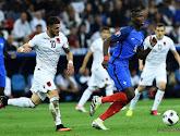 Didier Deschamps zette effectief Paul Pogba en Antoine Griezmann op de bank
