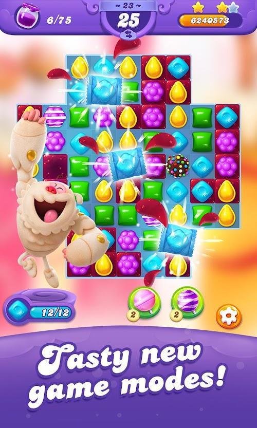 Screenshot 1 Candy Crush Friends Saga 1.10.10 APK MOD
