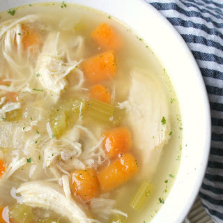 Instant Pot Healthy Chicken Vegetable Soup.