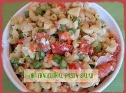 Un-Traditional Pasta Salad