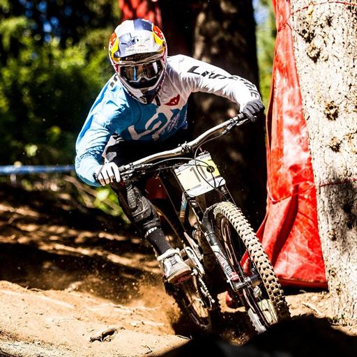 Downhill mountain bikes