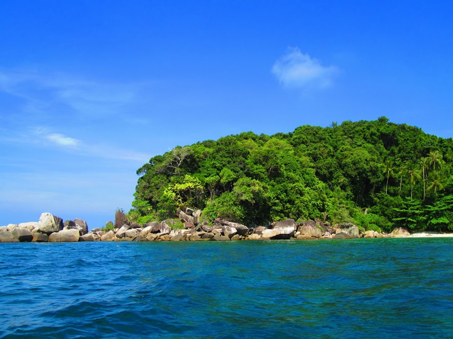 One of the snorkeling areas.