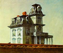 """Photo: O quadro """"House by the Railroad"""", de Edward Hopper: serviu de inspiração para a casa de """"Psicose""""."""