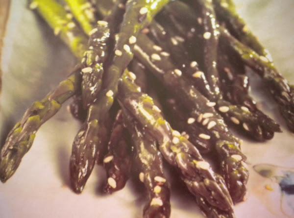 Asian Glazed Asparagus Recipe