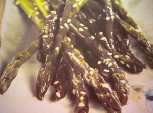 Asian Glazed Asparagus