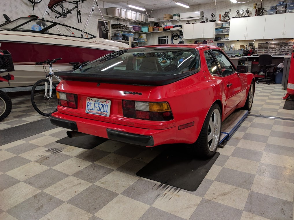 Thscc Forums View Topic 1985 Porsche 944 With 5 7l V8 Conversion 300 Hp 3000
