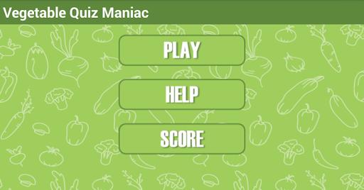 Vegetables Quiz Maniac