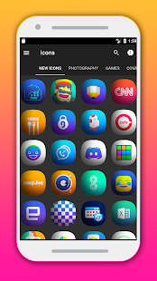 Erom - Icon Pack Screenshot