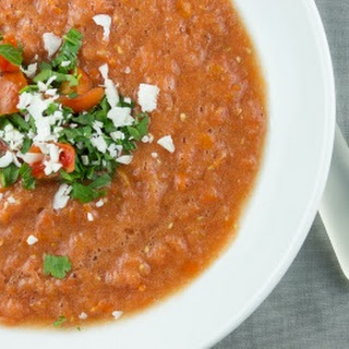 Coconut Tomato Soup.