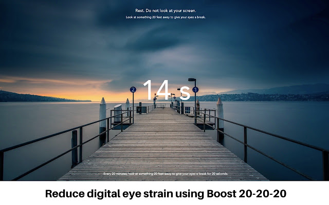 Boost 20-20-20: Prevent Eye Strain