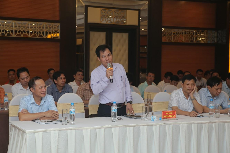 Các cơ quan báo chí đóng góp ý kiến cho sự phát triển du lịch Cửa Lò