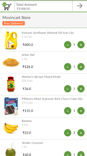 玩免費購物APP|下載MovinCart-Grocery Shopping App app不用錢|硬是要APP