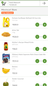 MovinCart-Grocery Shopping App screenshot 4