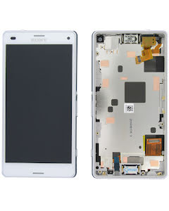 Xperia Z3 Compact Display Original White