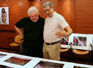 Photo: Tullio FRAGIACOMO a confronto con Felice CIRULLI