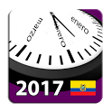 Calendario 2017 Ecuador AdFree icon
