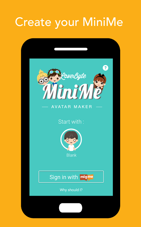 LoveByte MiniMe Avatar Maker- screenshot