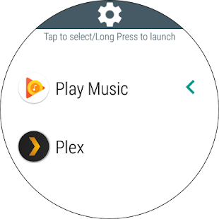 Music Boss for Android Wear - Control Your Music Screenshot