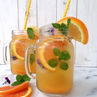 Sparkling Orange Lemonade