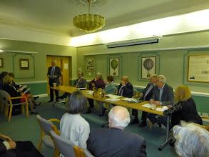 Photo: Ralf Kohnke presenting the Management Committee update