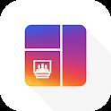 Grid Post Maker- Photo Video Collage In Profile icon