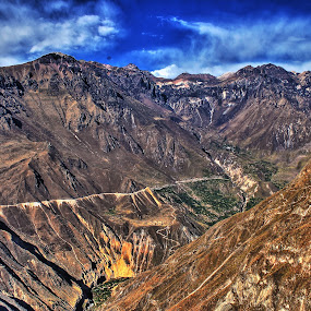 Colca canyon hdr by Jorrit Prmt - Landscapes Mountains & Hills ( hdr colca canyon peru,  )