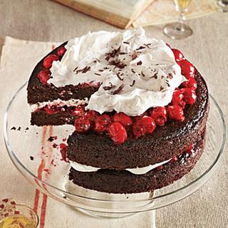 Black Forest Cherry Cake.