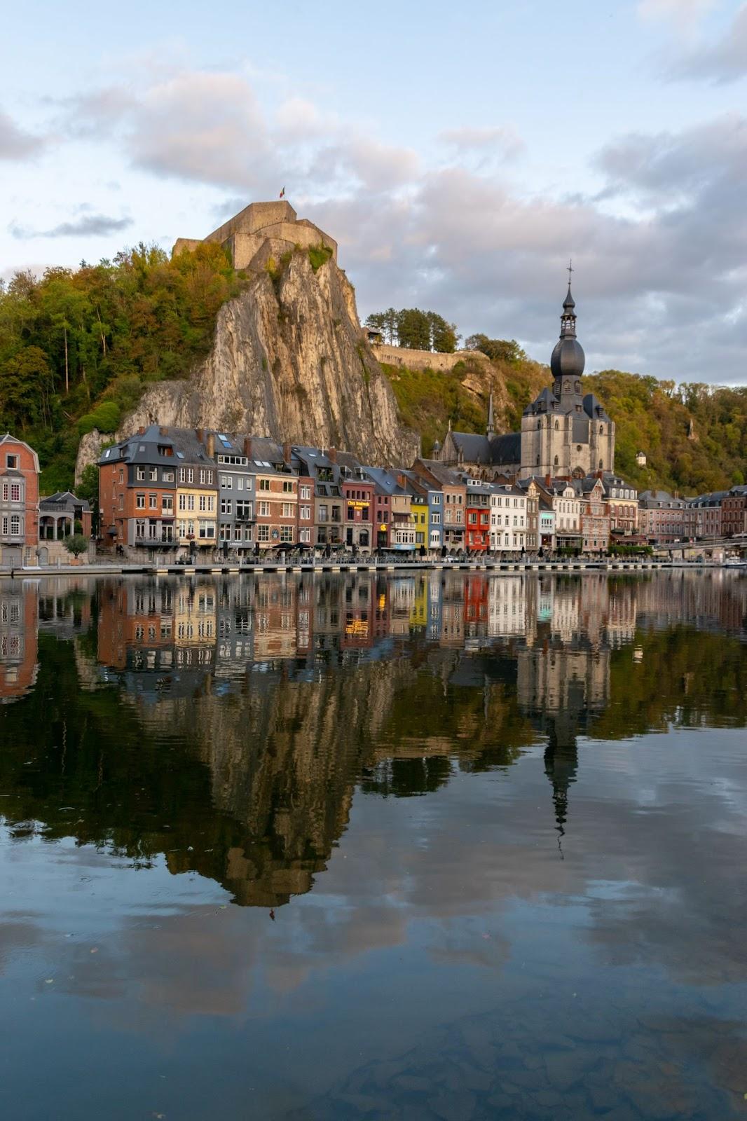 Dinant city Namur Belgium Campspace