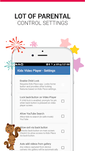 Kids Safe Video Player - Video Parental Controls Screenshot