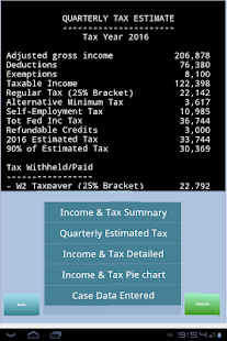 TaxMode: income tax calculator- screenshot thumbnail