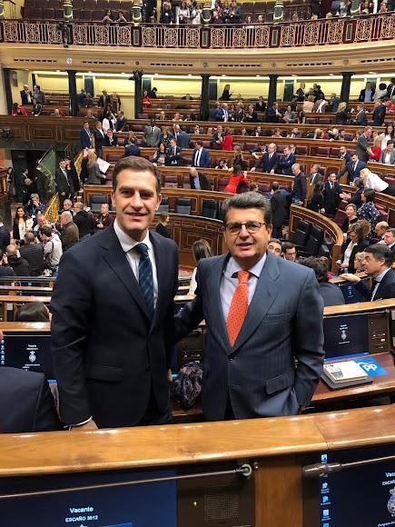 Los populares Miguel A. Castellón y Juanjo Matarí.