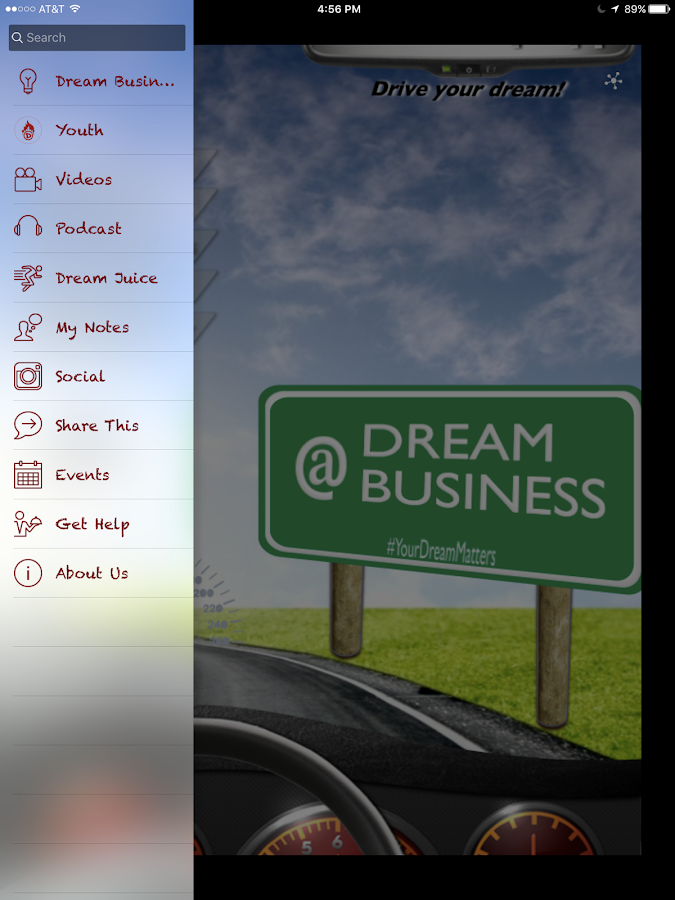 Dream Map App- screenshot
