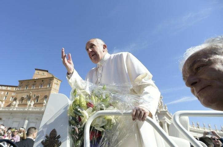 Pope at Jubilee Audience © PHOTO.VA - OSSERVATORE ROMANO