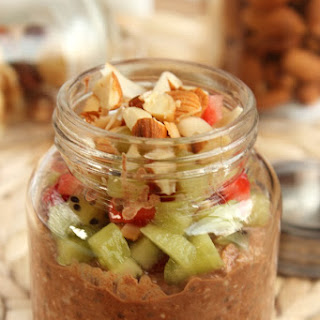 Chia and Chocolate Breakfast Pudding (its healthy AND easy!)