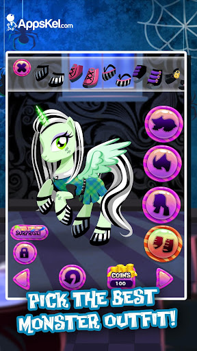 My Monster Pony Dress-up Game for PC