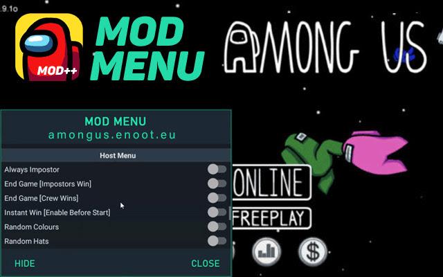 Among Us Hack Mod Menu Download free 2021