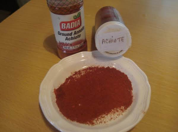 Mexican Annatto/achiote Paste, Adobo Mexicano De Achiote Molido Recipe