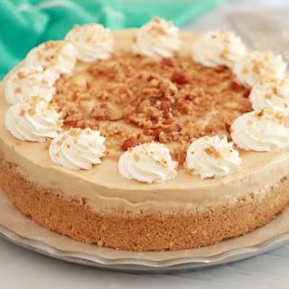 No Bake Dulce De Leche Cheesecake