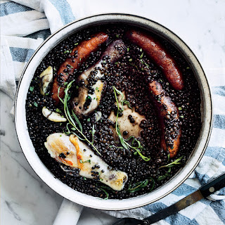Lentil-and-Chicken Cassoulet.